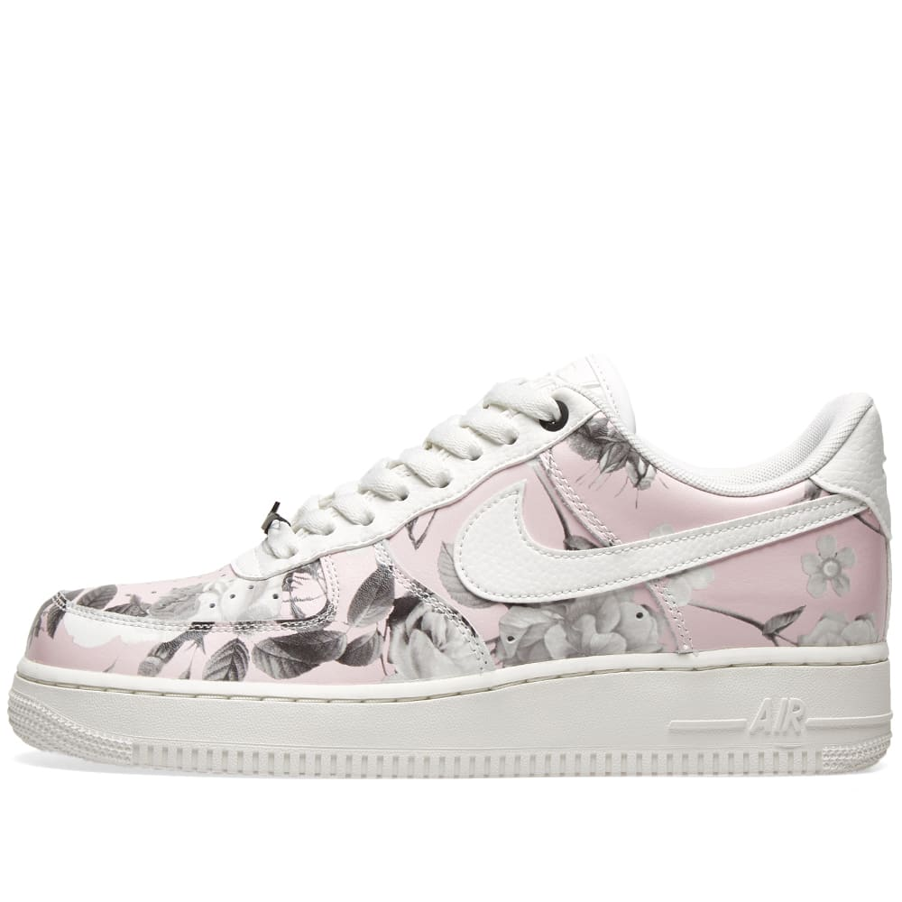 detailed look 96794 64fba Nike Air Force 1  07 LXX W  Floral  White   Black   END.