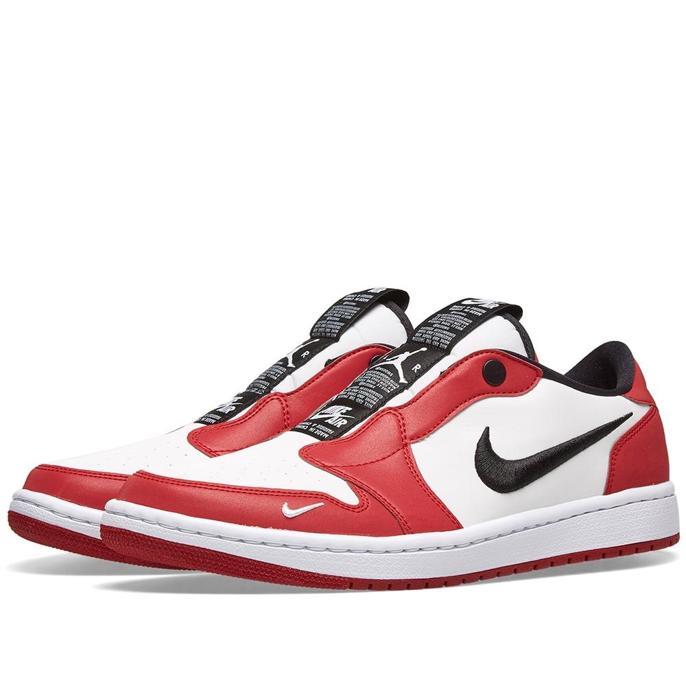 9609a0a75c7209 Nike Air Jordan 1 Retro Low Slip x Sheila Rashid Women s Shoe - Red ...