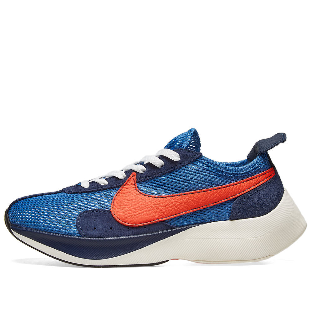 various colors 51824 cdf7f Nike Moon Racer QS Mountain Blue & Team Orange | END.