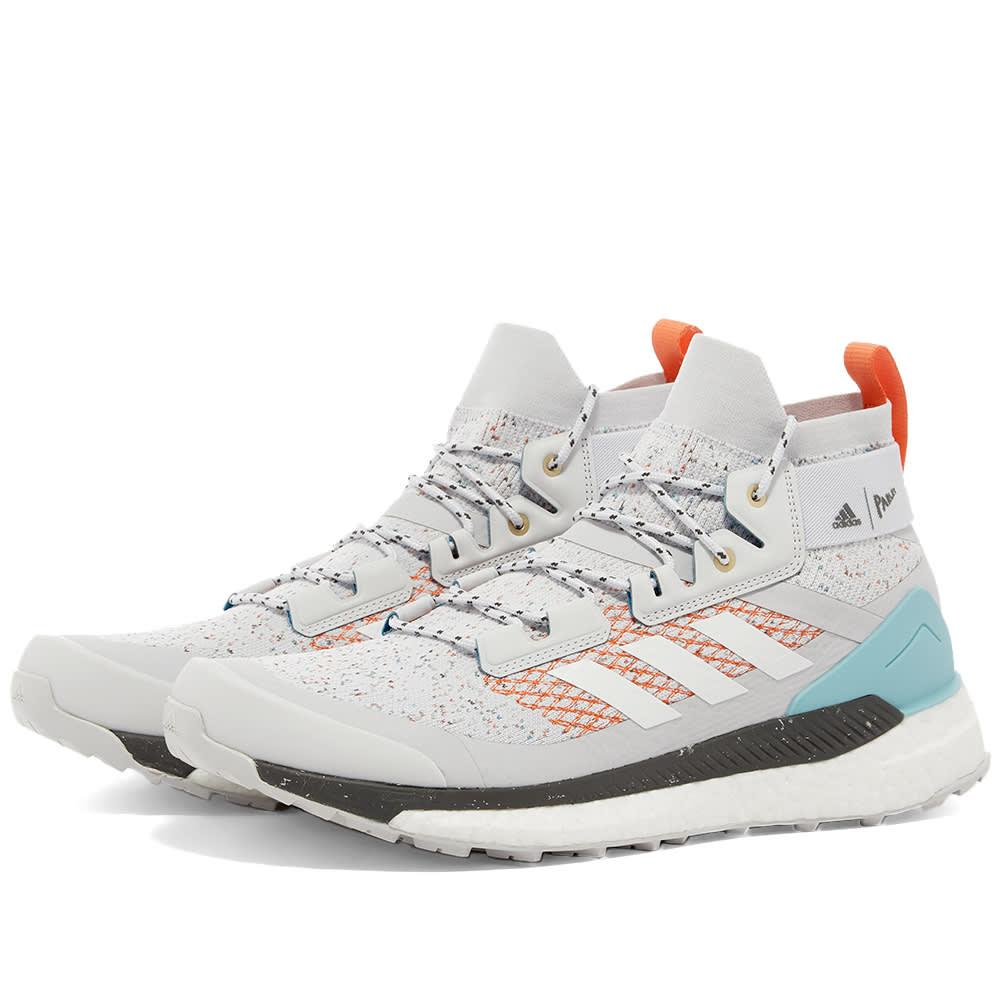 really comfortable performance sportswear authorized site Adidas Terrex Free Hiker Parley Grey, White & Orange | END.