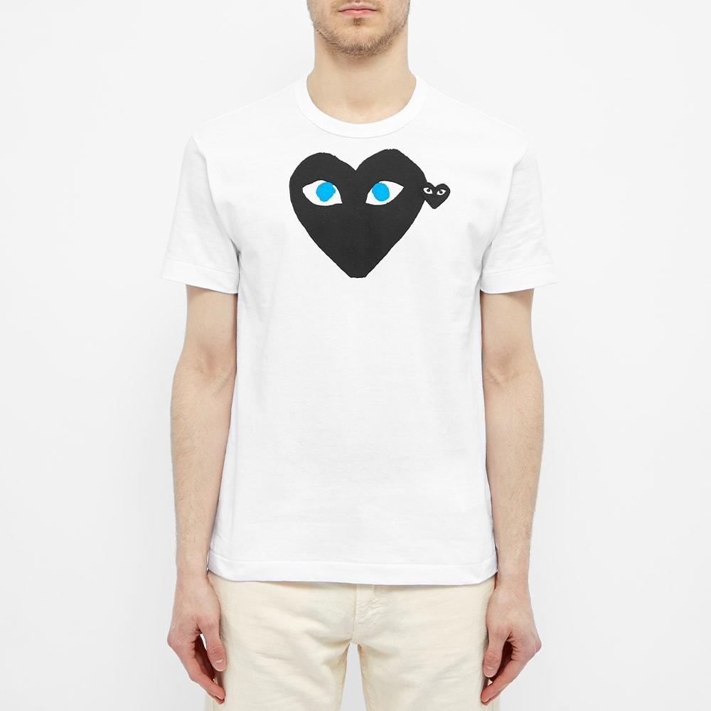 Comme Des Garçons Play Heart Logo T Shirt Ss20 |