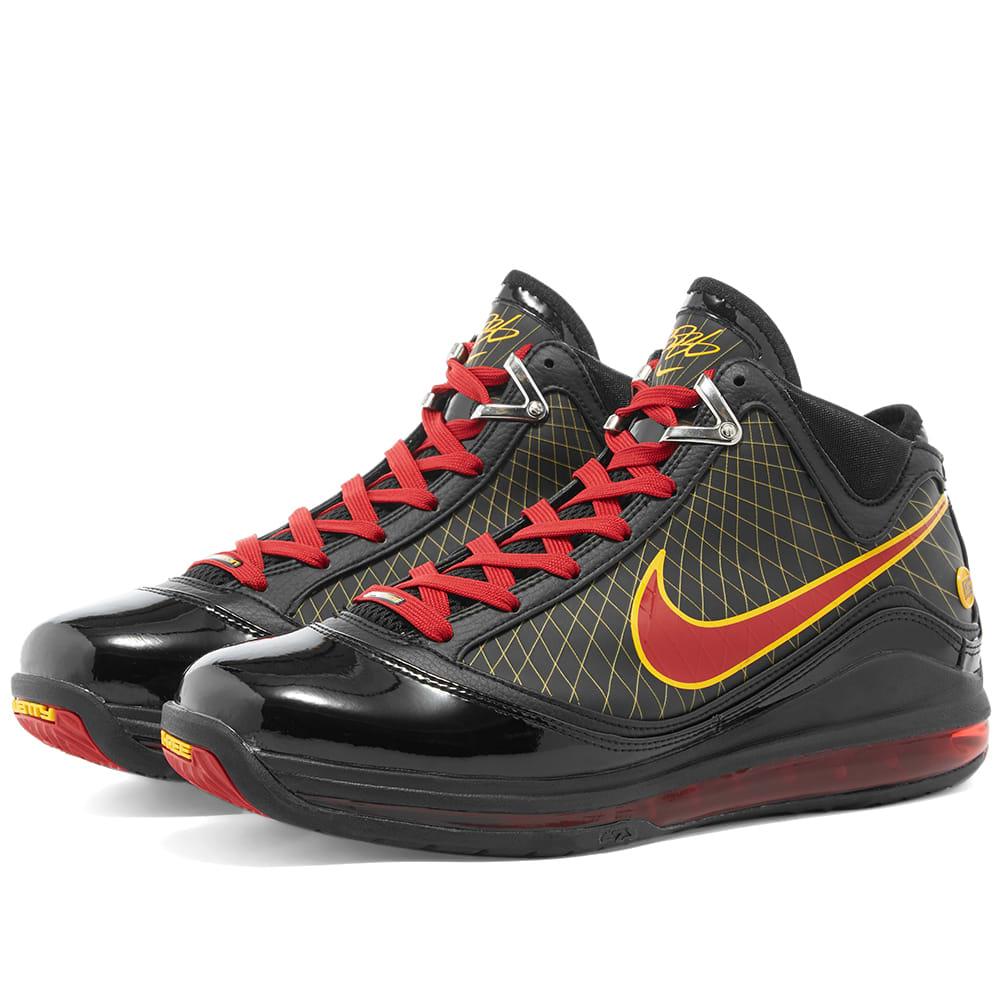 Nike LeBron 7 Black \u0026 Varsity Red | END.