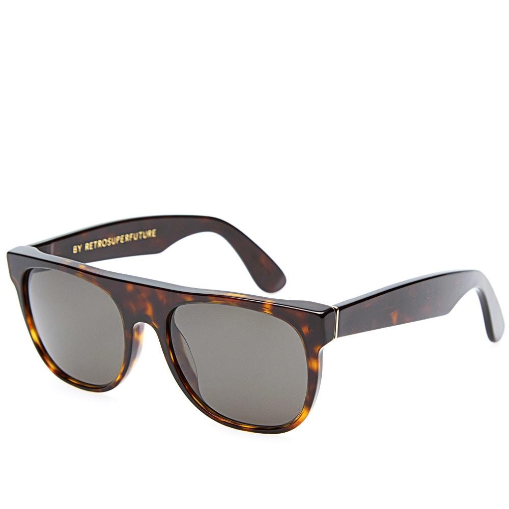 9ec19166a0 SUPER by RETROSUPERFUTURE Flat Top Sunglasses Havana
