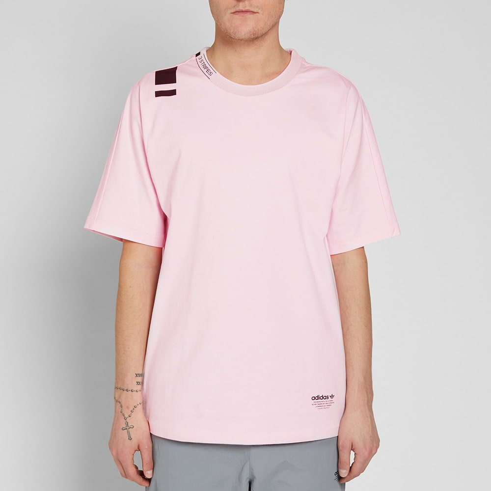 outlet store c6ec7 4e70b Adidas NMD Tee Clear Pink   END.