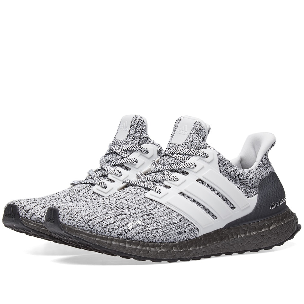 23a982d0e Adidas Ultra Boost White   Grey Two