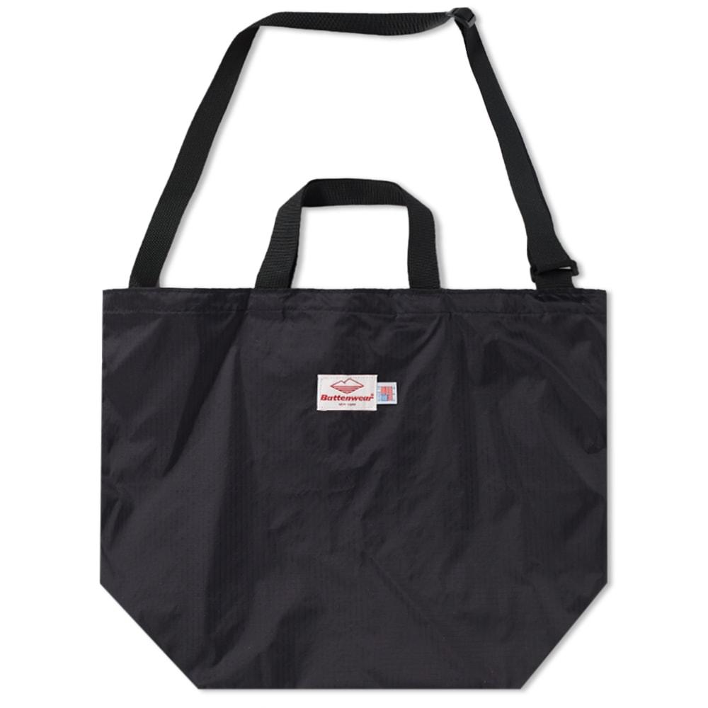 c0bbb1572 Battenwear Packable Tote Bag Black | END.