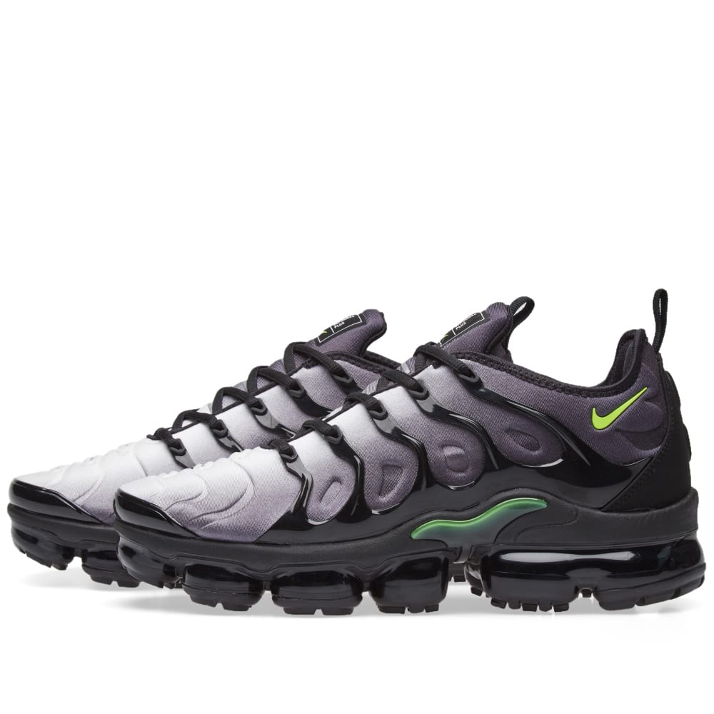 factory price 10701 38a86 Nike Air VaporMax Plus Black, Volt   White   END.