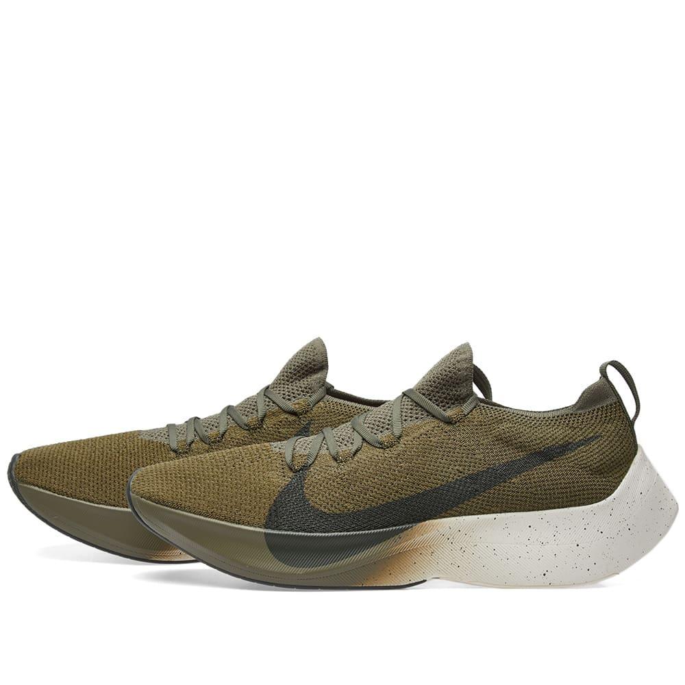 6712af74b Nike Vapor Street Flyknit Medium Olive, Sequoia & Sail | END.
