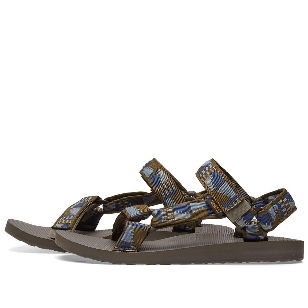 2258b2f7b13d Teva Original Universal Sandal Peaks Olive