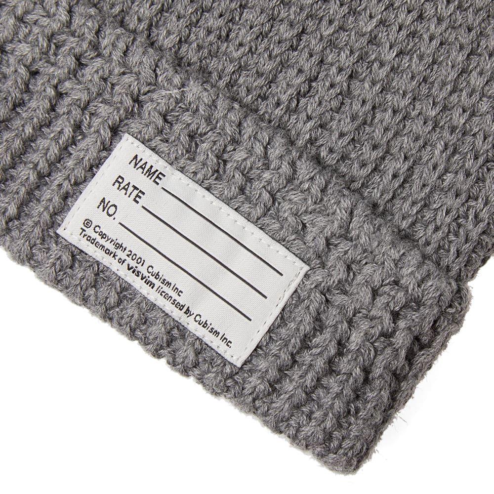 bf949502a90d1 Visvim Knit Beanie Grey