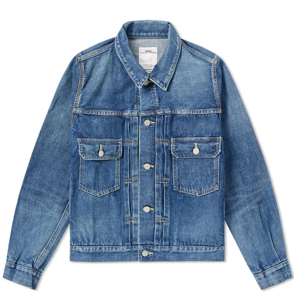 kid wholesale sales hot-selling cheap Visvim Social Sculpture 101 Jacket Damaged