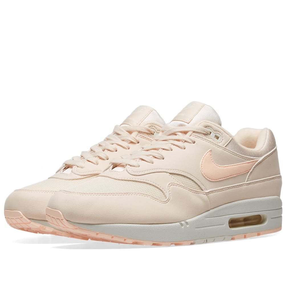 new styles 24364 4a676 Nike Air Max 1 W Guava Ice, Crimson   Sail   END.