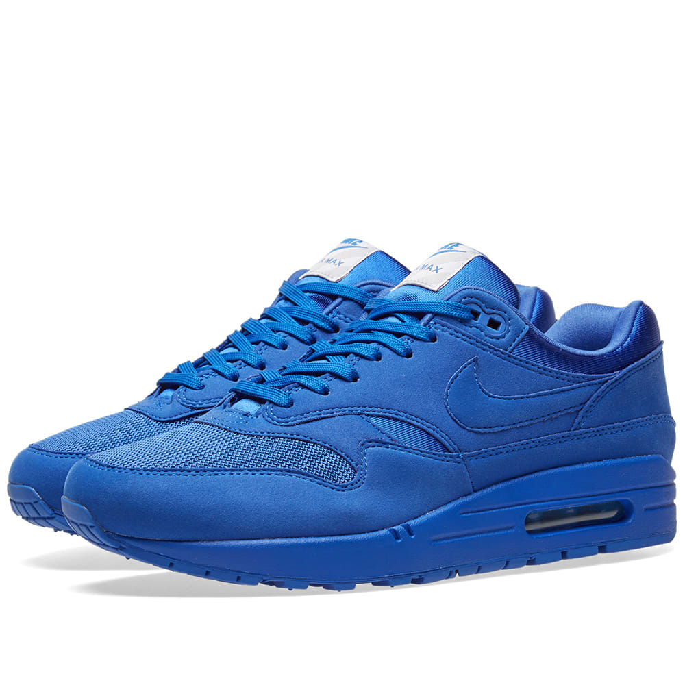 size 40 be578 9ee15 Nike Air Max 1 Premium Game Royal   Neutral Grey   END.