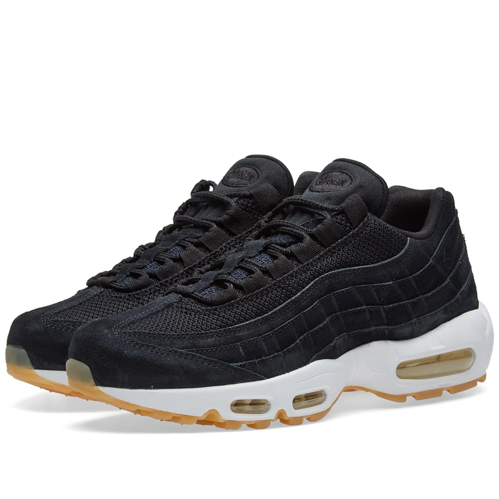 reputable site 9c420 0f1cd Nike Air Max 95 Premium Black, Muslin   White   END.