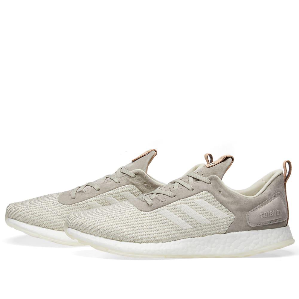 e027ee3e6 Adidas Consortium x Solebox Pure Boost DPR Grey