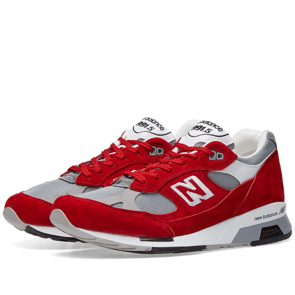 new balance 991 red