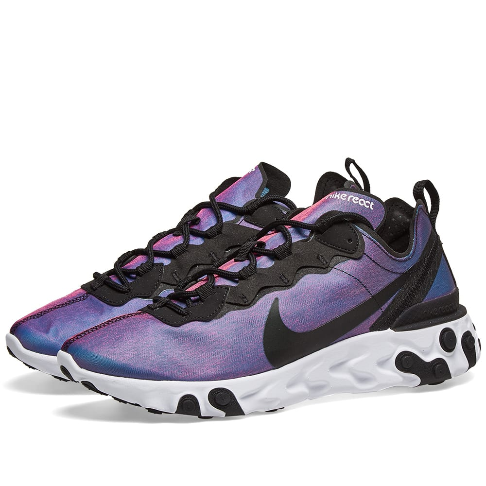 759f8008a69b Nike React Element 55 Premium Black