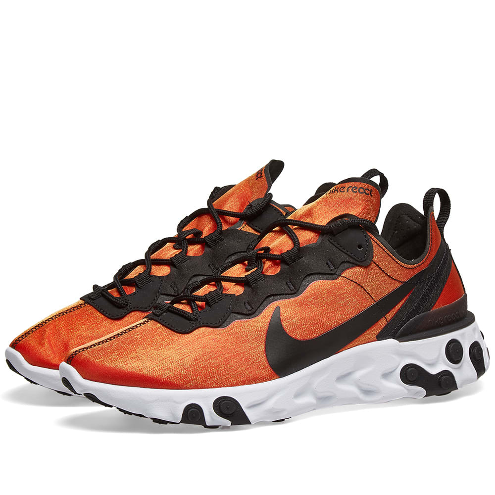 Nike React Element 55 Premium Black