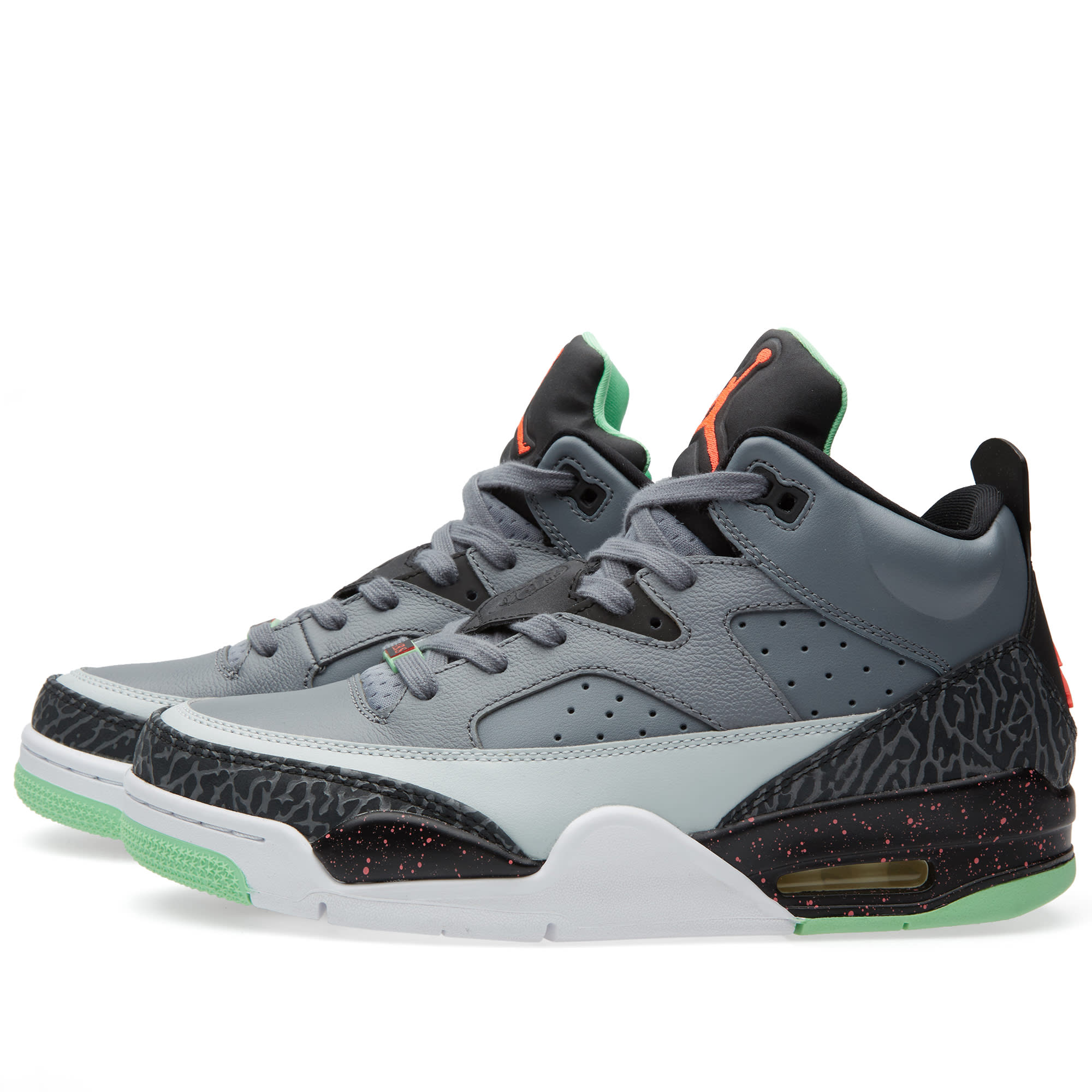 huge discount a09bf 834cf Nike Jordan Son of Mars Low Cool Grey, Infrared 23   Black   END.