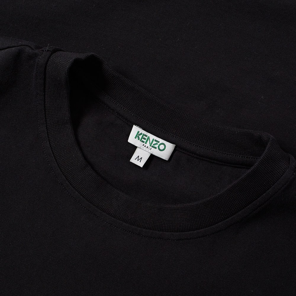 2318eda4 Kenzo Long Sleeve Arm Logo Tee Black | END.