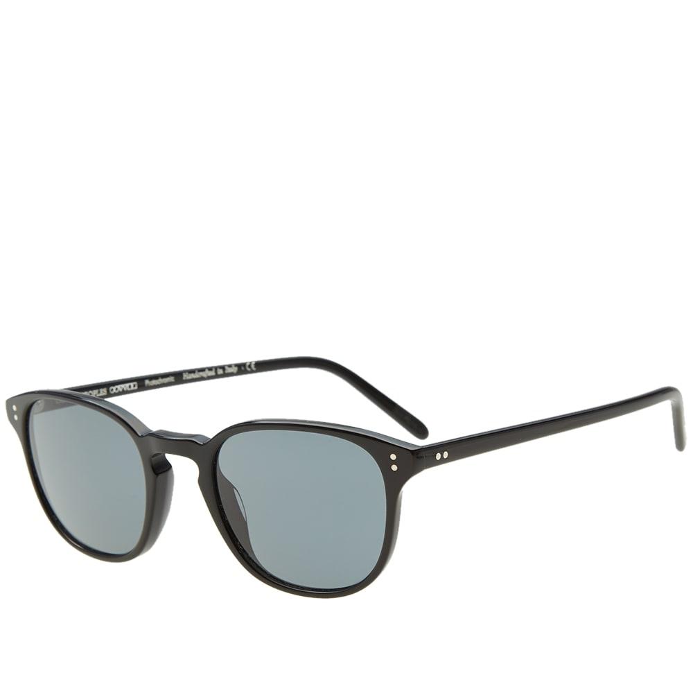 adedf28a97 Oliver Peoples Men S Fairmont Acetate Sunglasses In Black