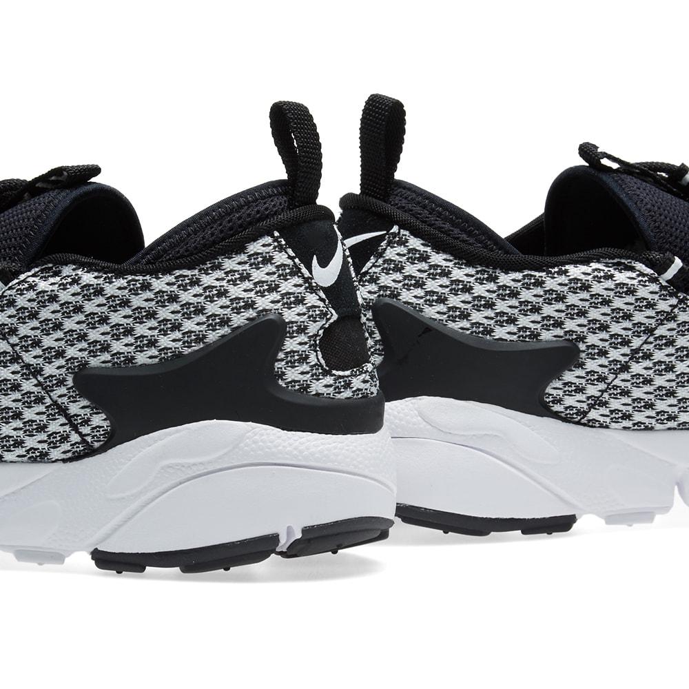 cdf39de60d Nike Air Footscape NM Jacquard Black & White | END.