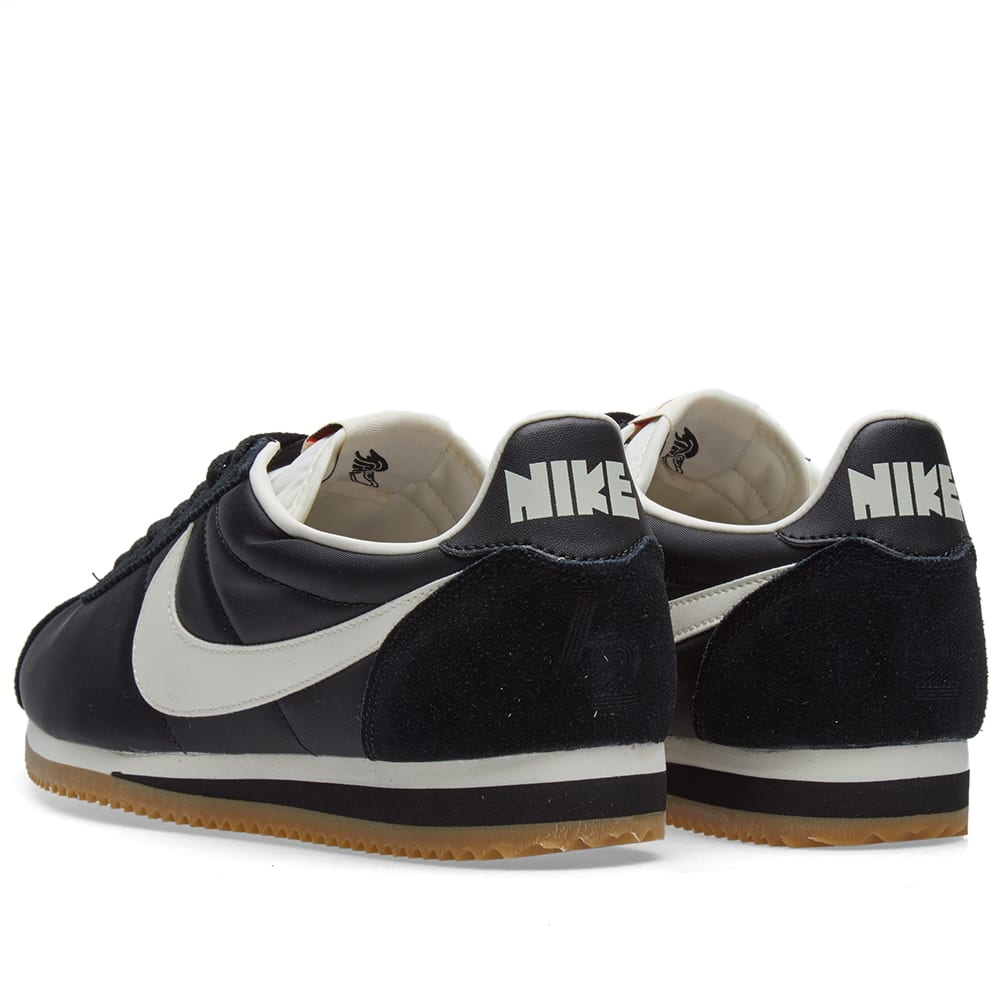 check out 218ff cc2c7 Nike Classic Cortez Nylon Premium Black, Sail   Light Brown   END.