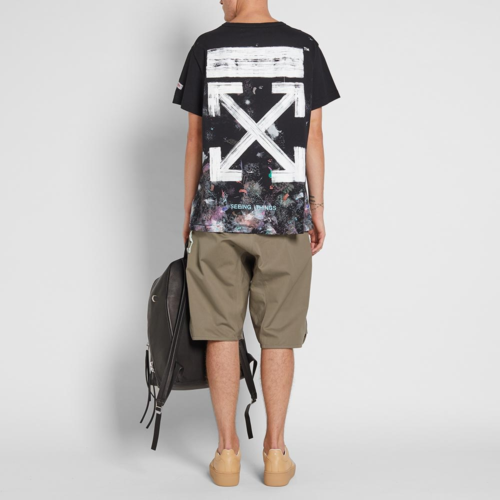 981421fb Off-White Galaxy Brushed Tee Black & White | END.