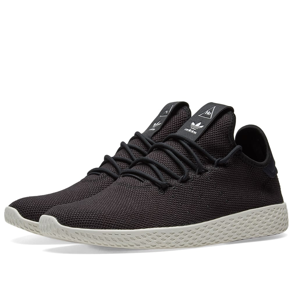 4c1237a7f73a9 Adidas x Pharrell Williams Tennis HU Core Black   Chalk White