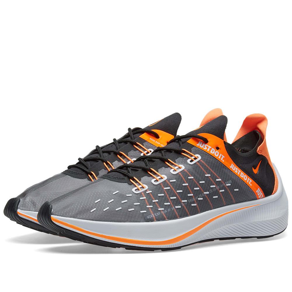 factory authentic ec371 d7086 Nike EXP-X14 Black, Orange, White   Grey   END.
