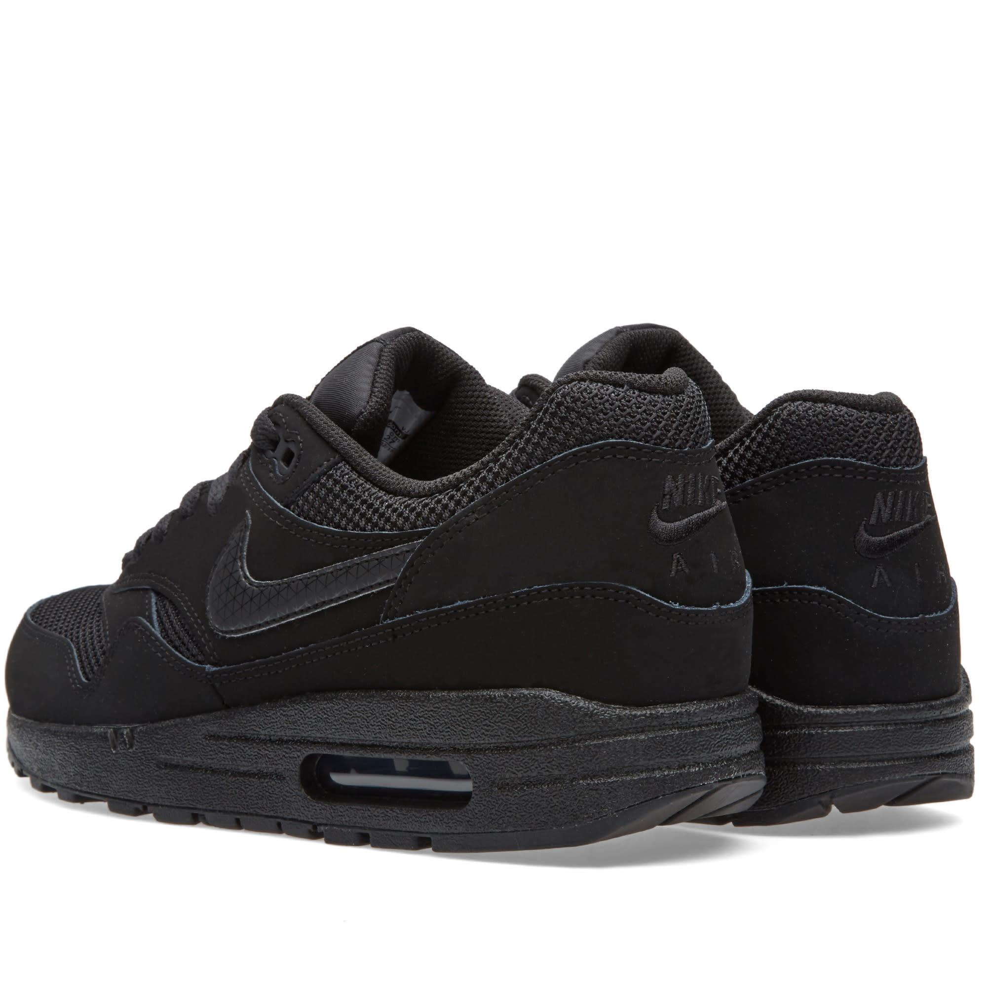 Nike Air Max 1 Essential Svart Svart 537383 025 Inköp