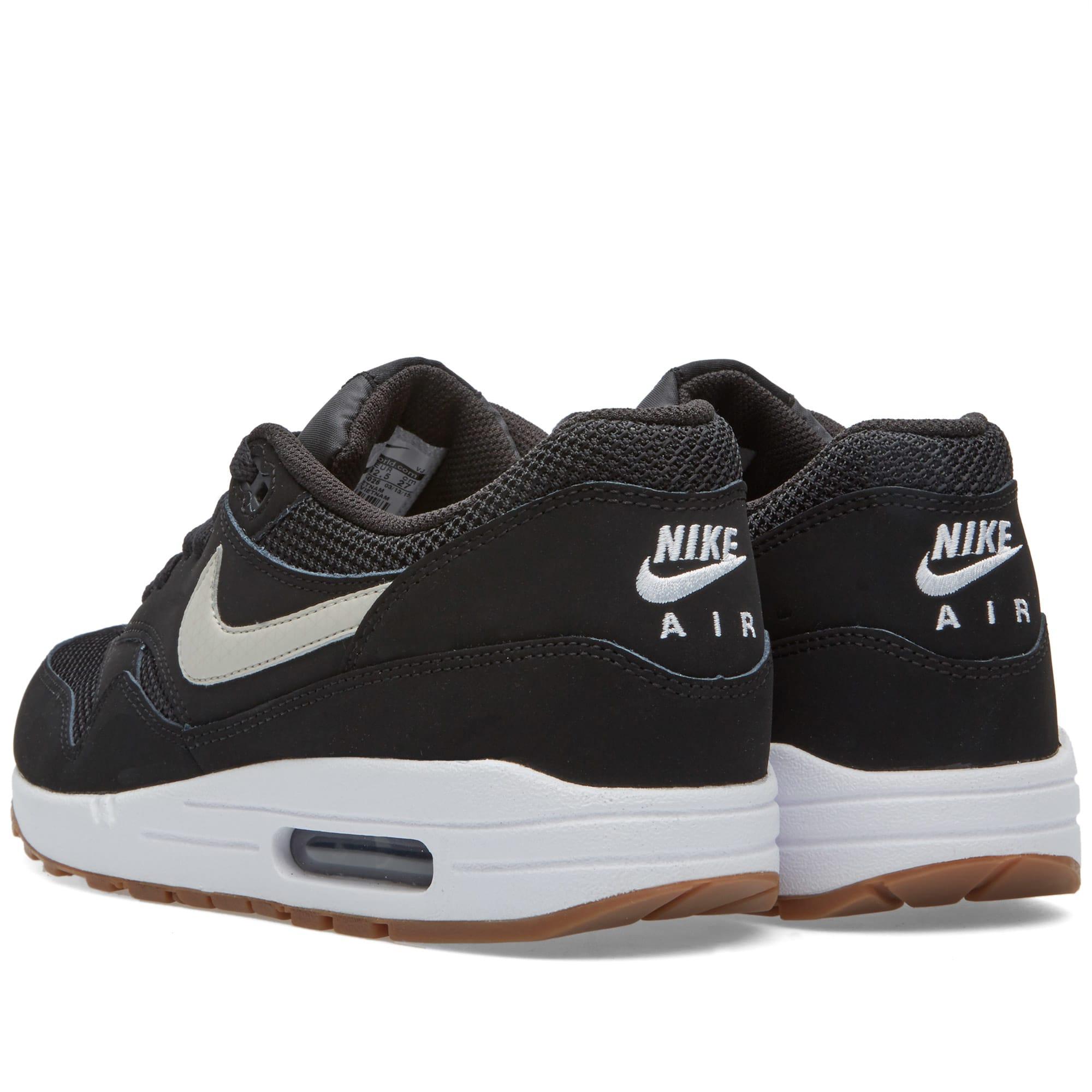 cheap for discount 2732c 44a44 Nike Air Max 1 Essential Black, Light Bone   White   END.