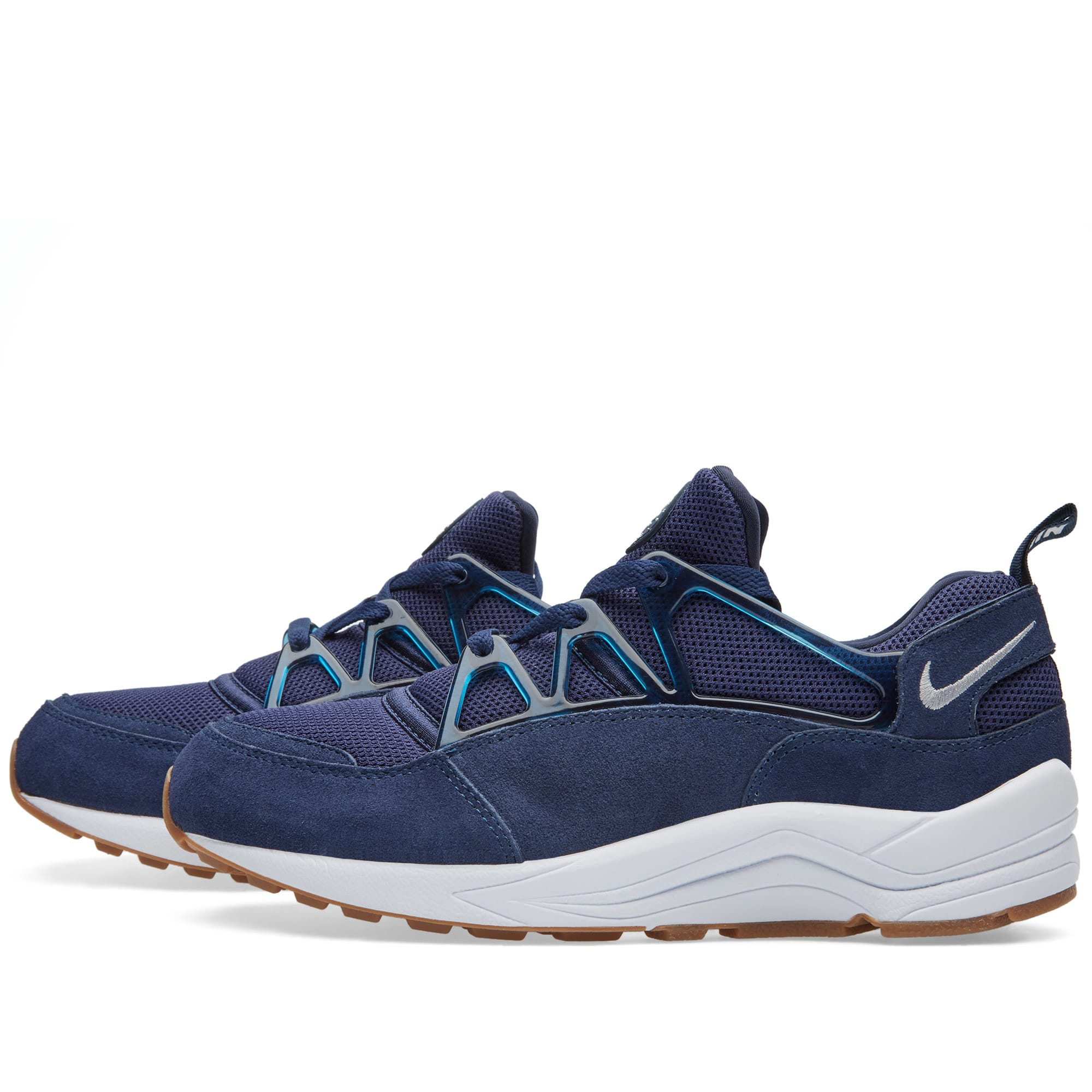 nike air huarache light mid navy wolf grey. Black Bedroom Furniture Sets. Home Design Ideas