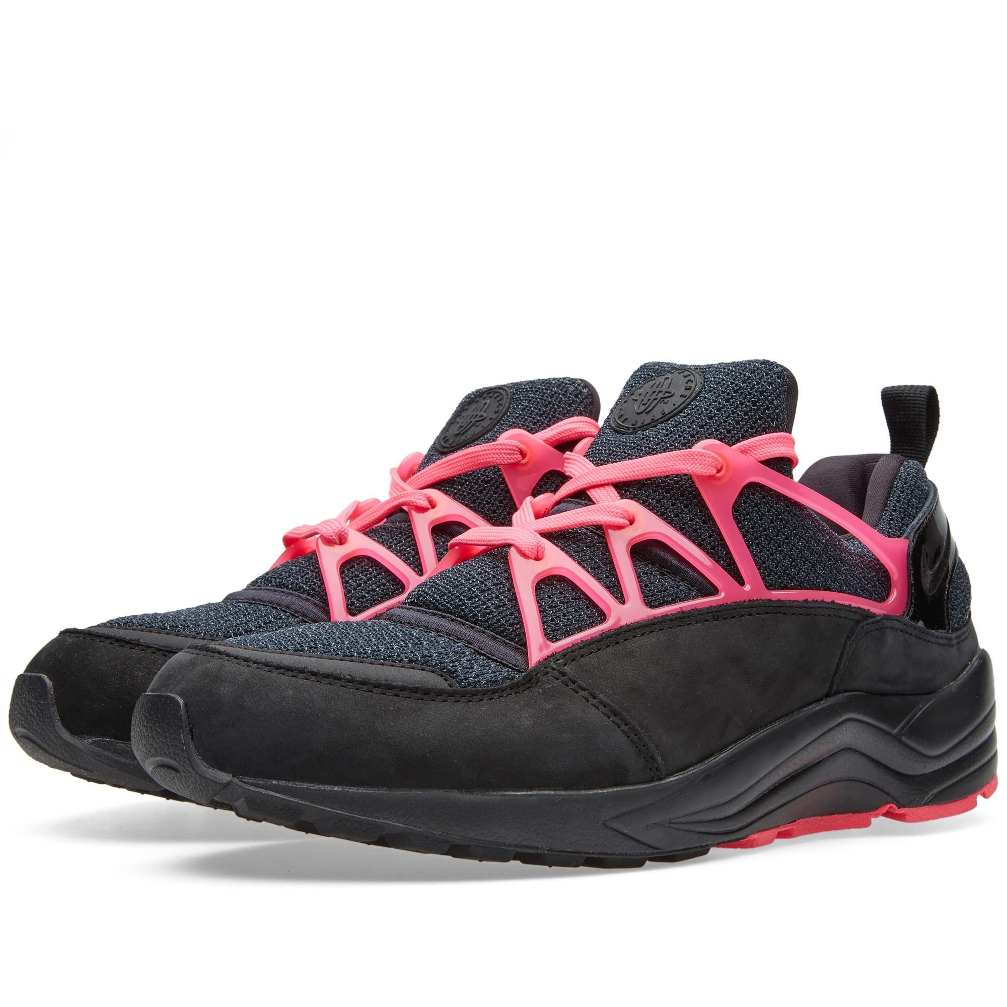 timeless design 580e6 92d27 Nike Air Huarache Light FC Black   Pink Flash   END.