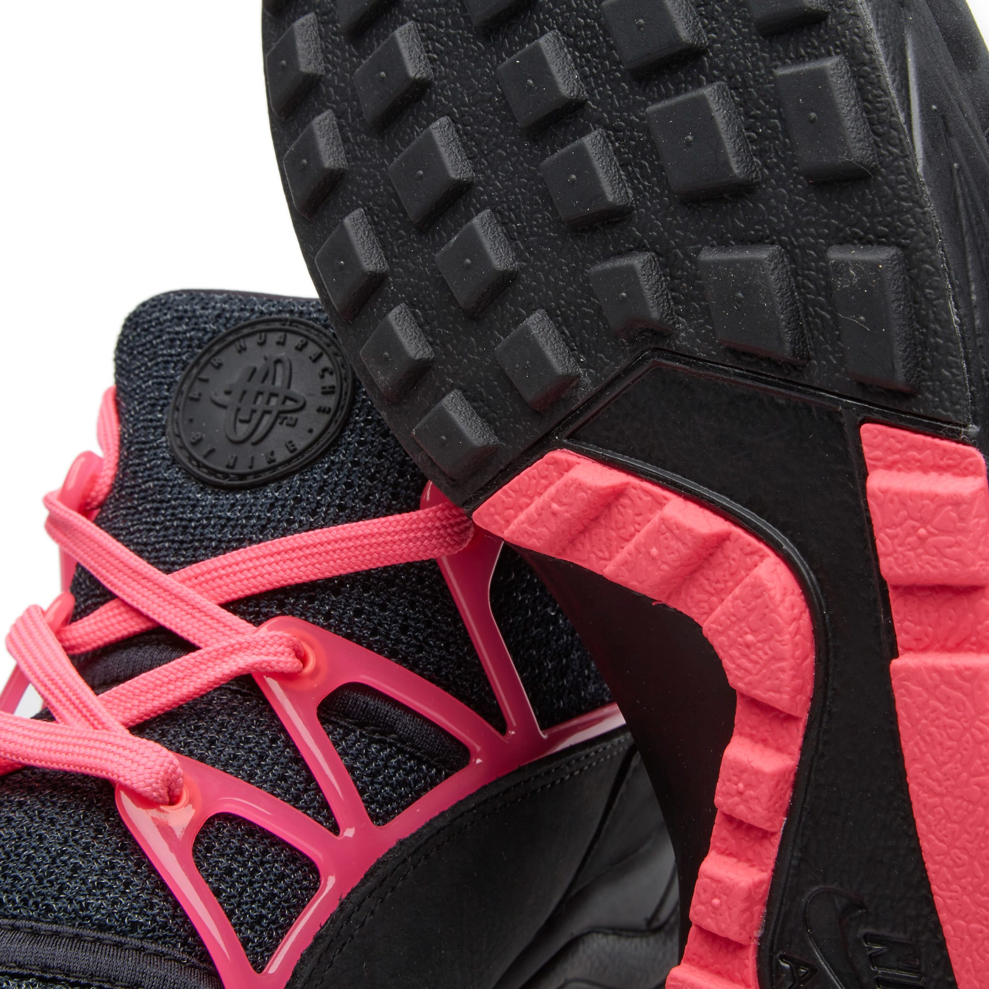366e692e4e27c Nike Air Huarache Light FC Black   Pink Flash