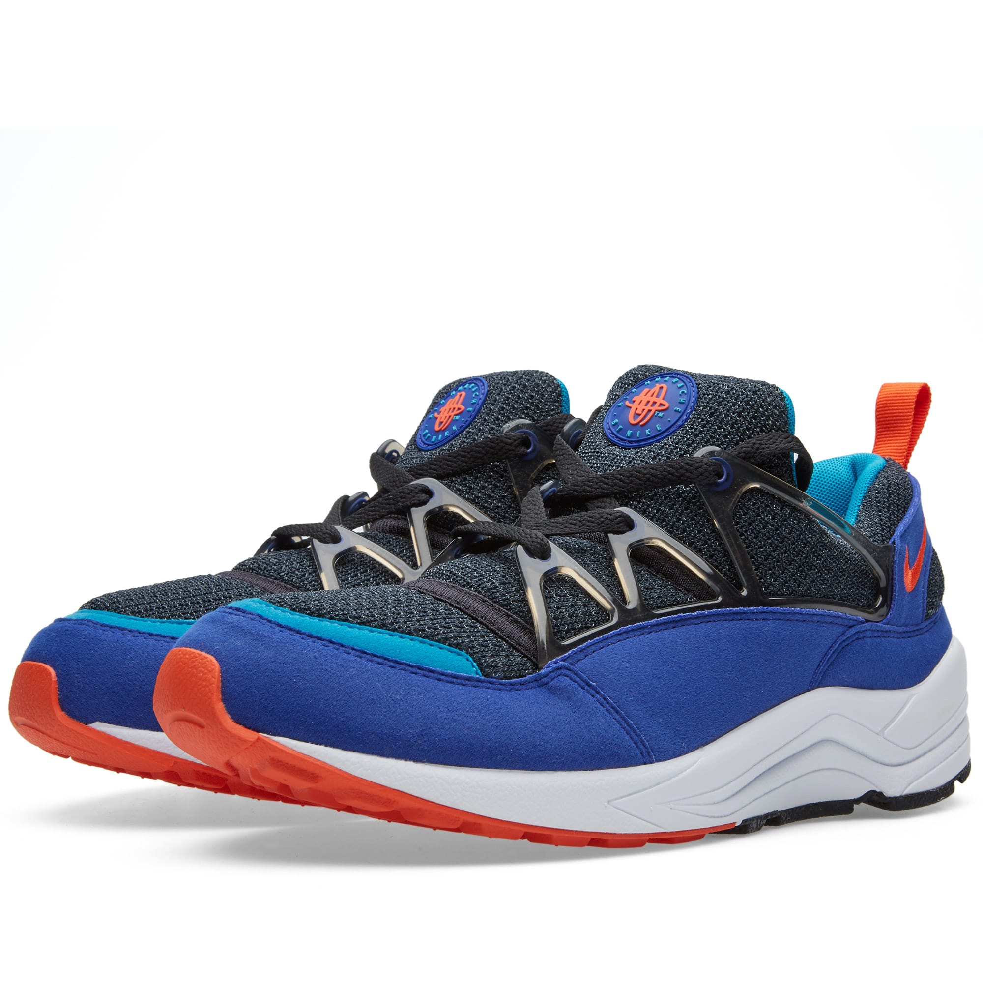 ffc73ba81cb13 Nike Air Huarache Light OG  Ultramarine  Concord   Team Orange