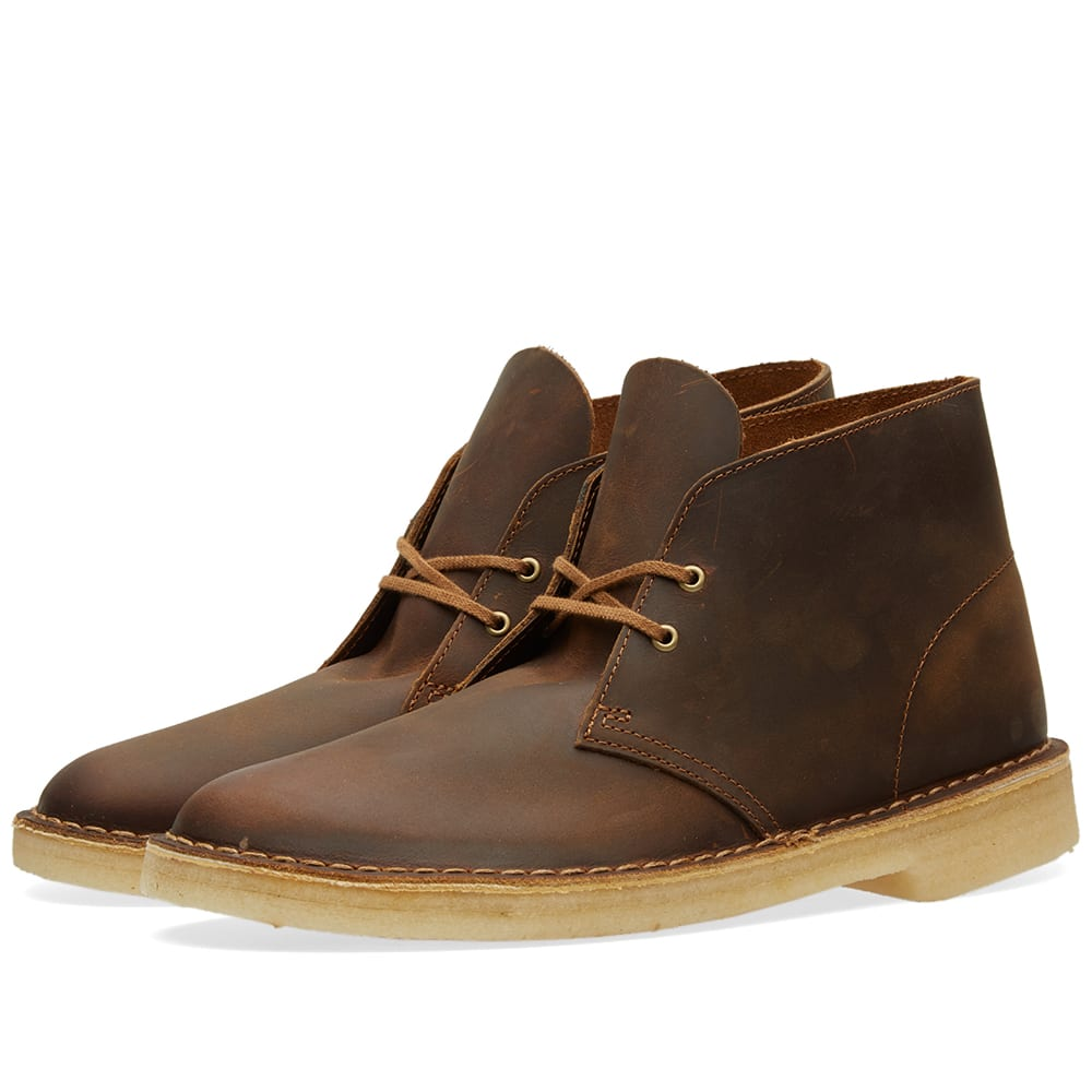 Clarks Originals Desert Boot Beeswax Leather
