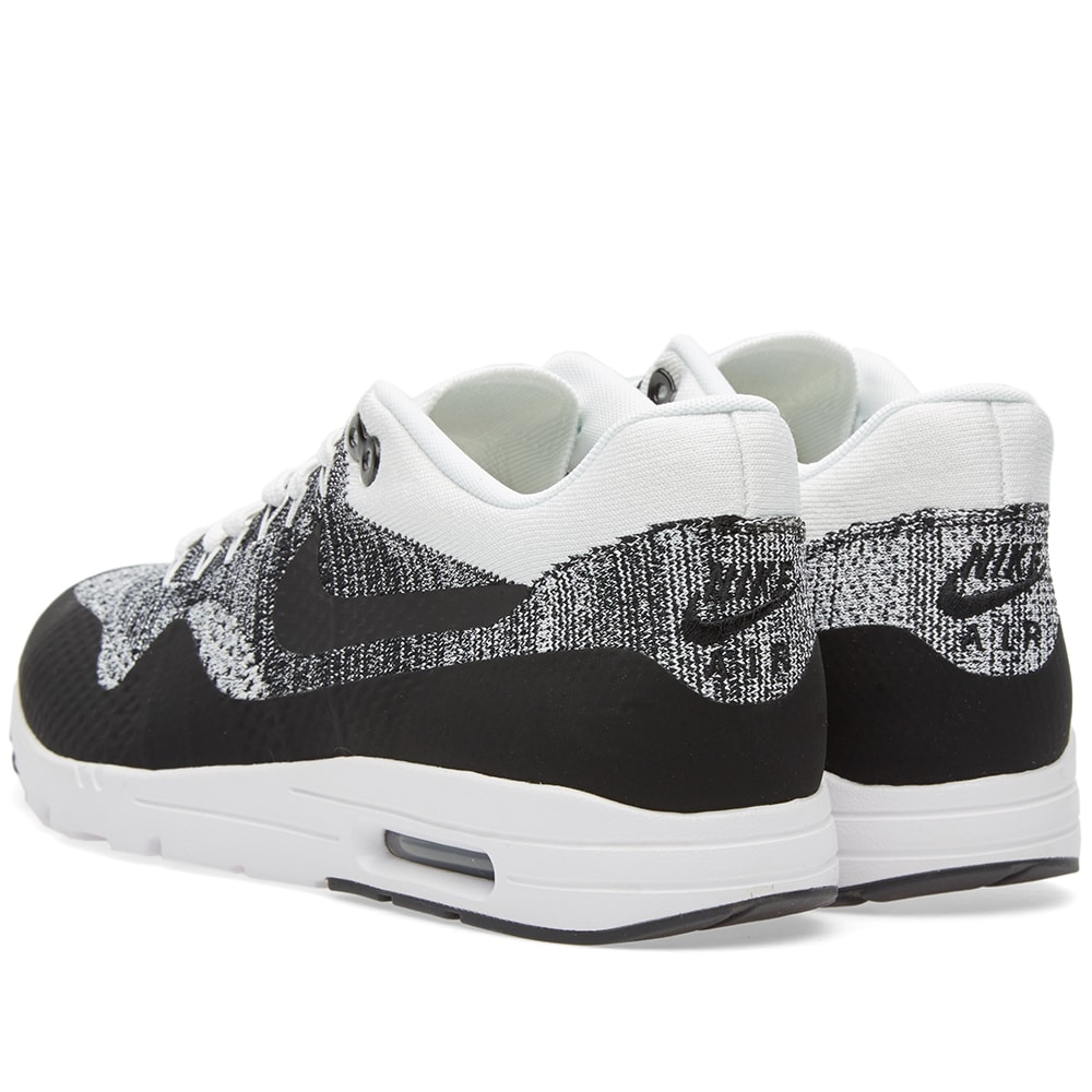 587d9cb2e9 Nike W Air Max 1 Ultra Flyknit White & Black | END.