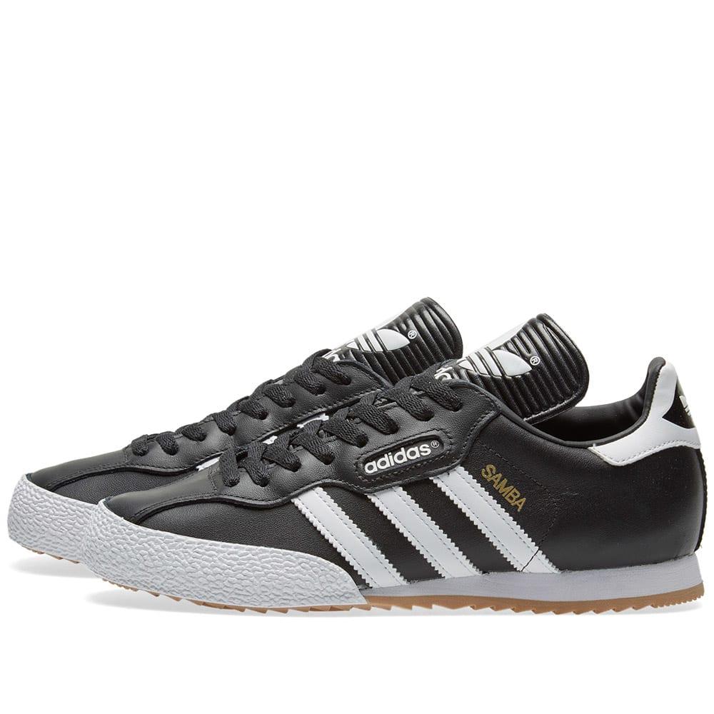 Adidas 19099 Men's adidas Samba Super Football Shoes ( Black