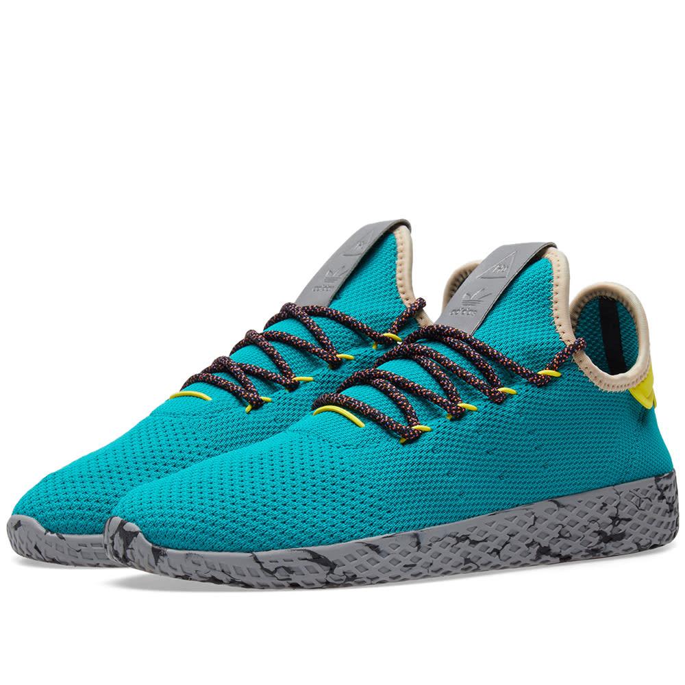 e89467c65 Adidas x Pharrell Williams Tennis Hu Teal