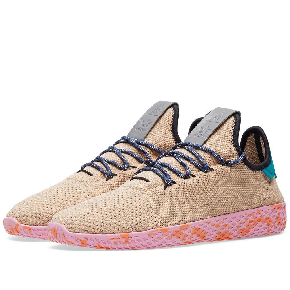 f2bce360c Adidas x Pharrell Williams Tennis HU Tan