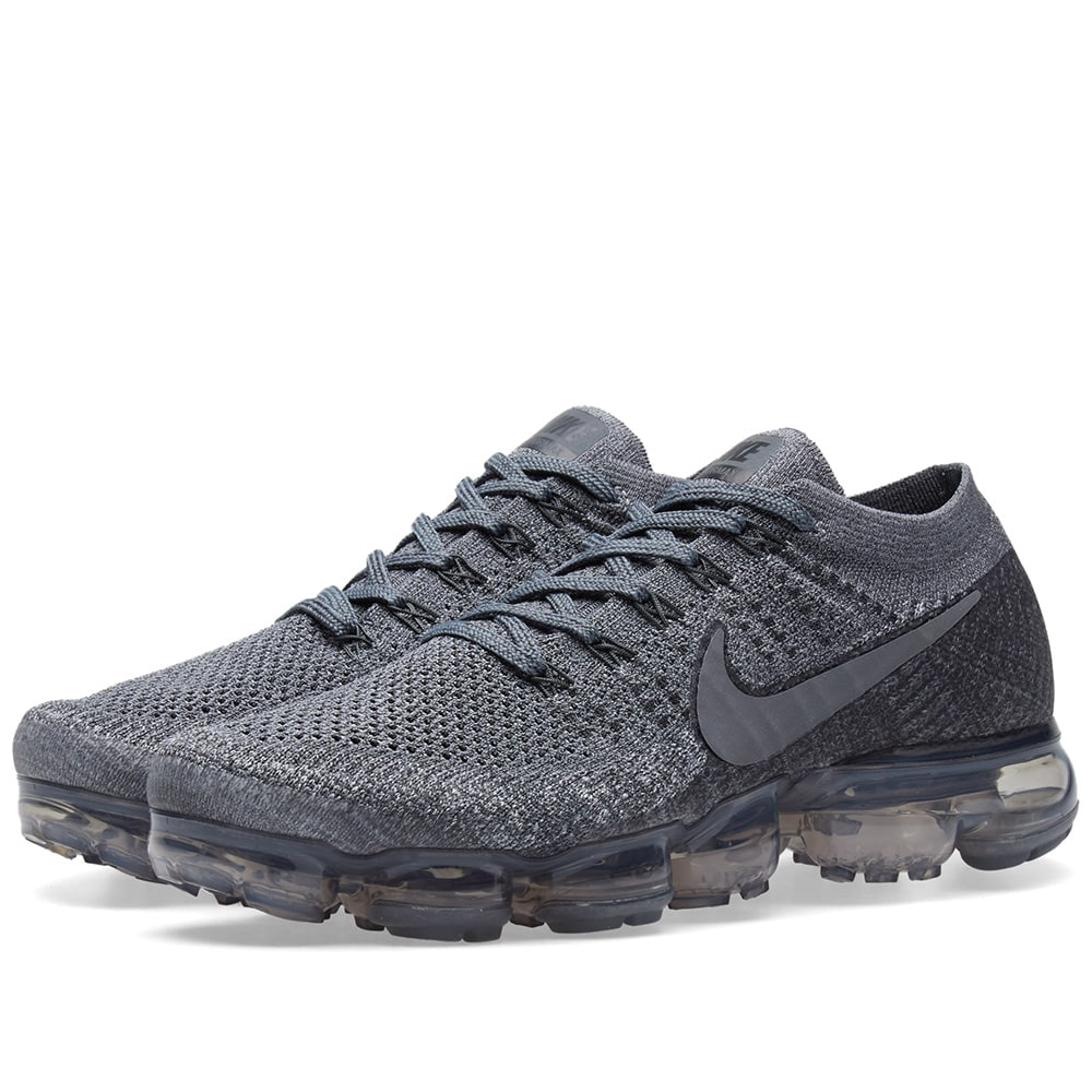 reputable site 5d9f7 4a0fe Nike Air VaporMax Flyknit W Cool Grey   Dark Grey   END.