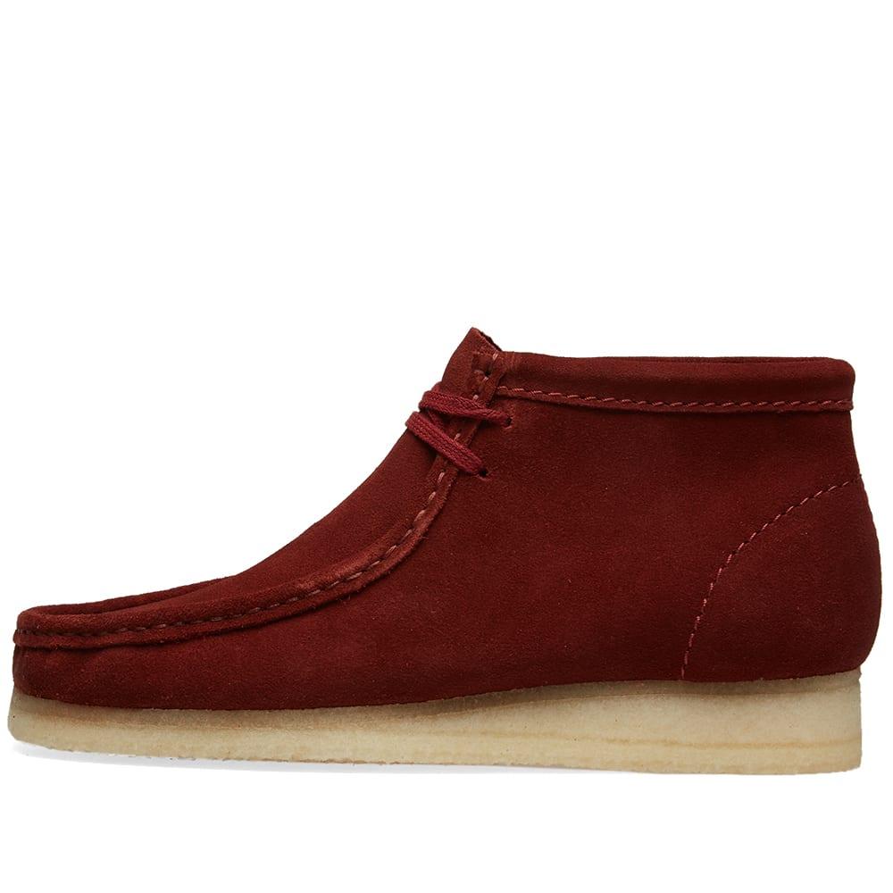 9f307301c Clarks Originals Wallabee Boot Nut Brown Suede