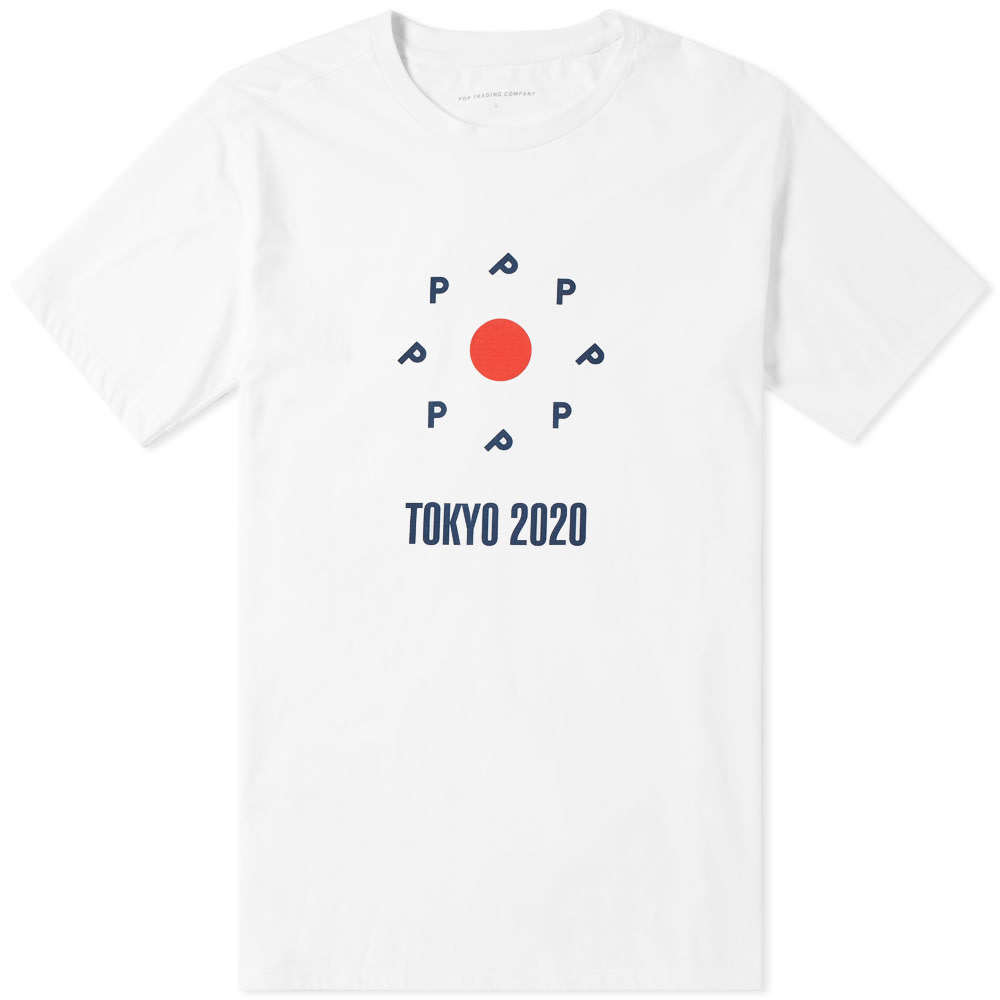 Pop Trading Company POP TRADING COMPANY TOKYO LOGO TEE