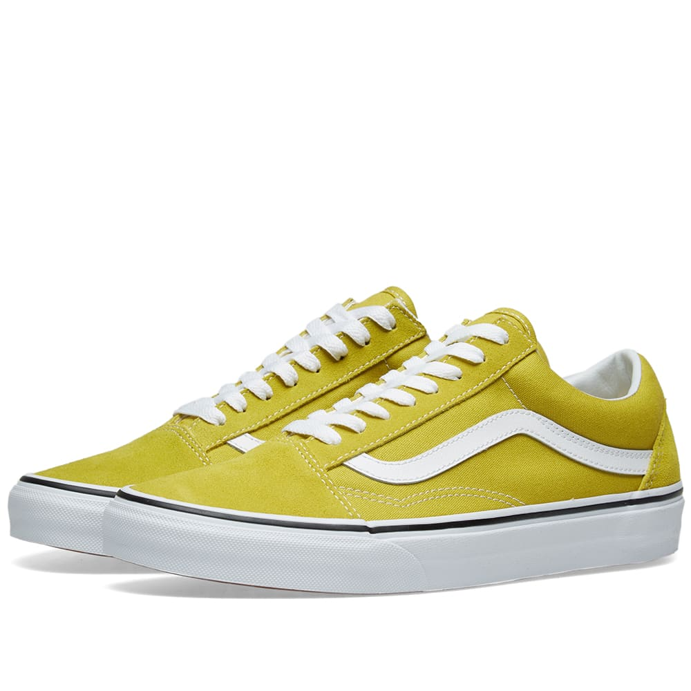 Vans Old Skool Cress Green \u0026 True White