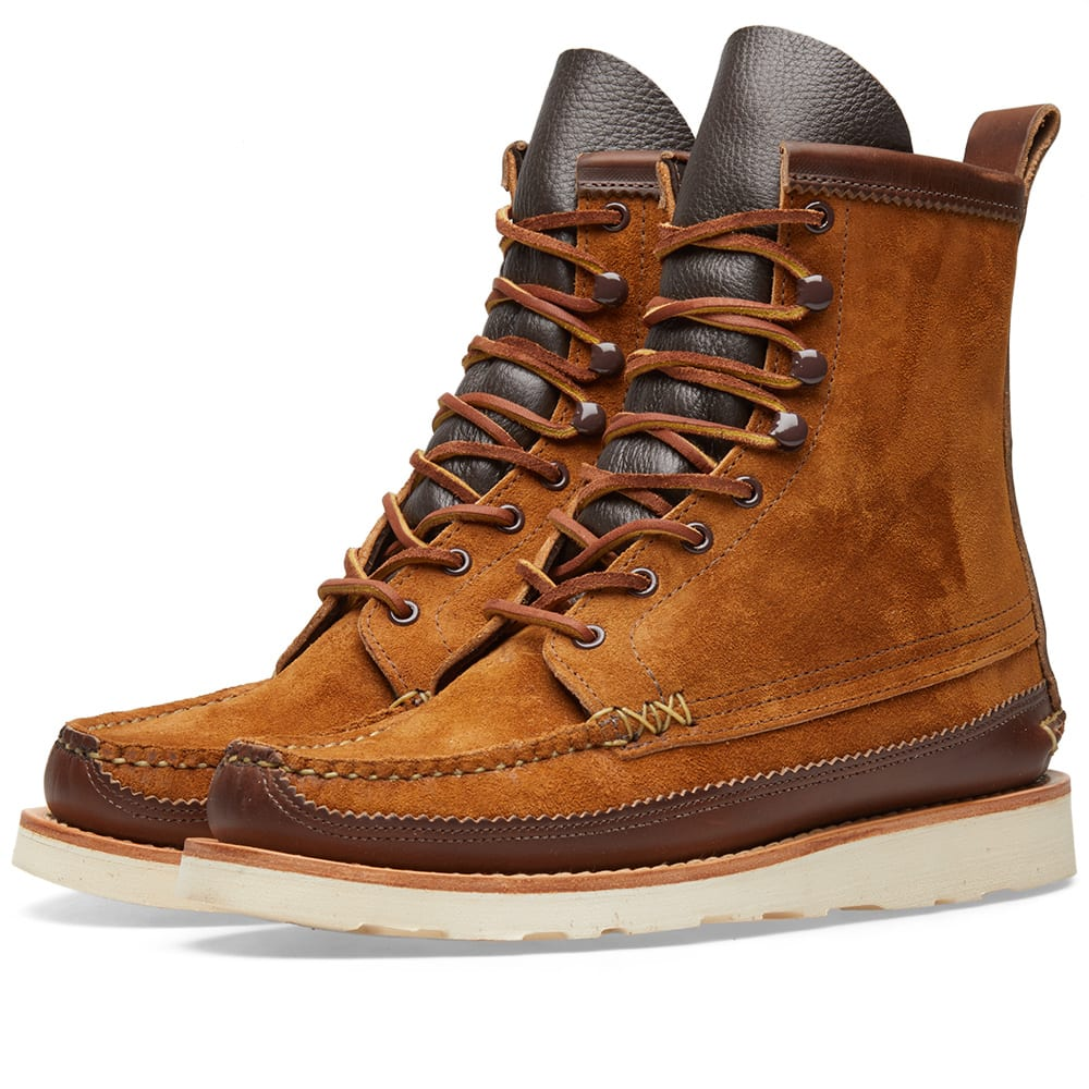 YUKETEN Maine Guide Db Leather Boots in Brown
