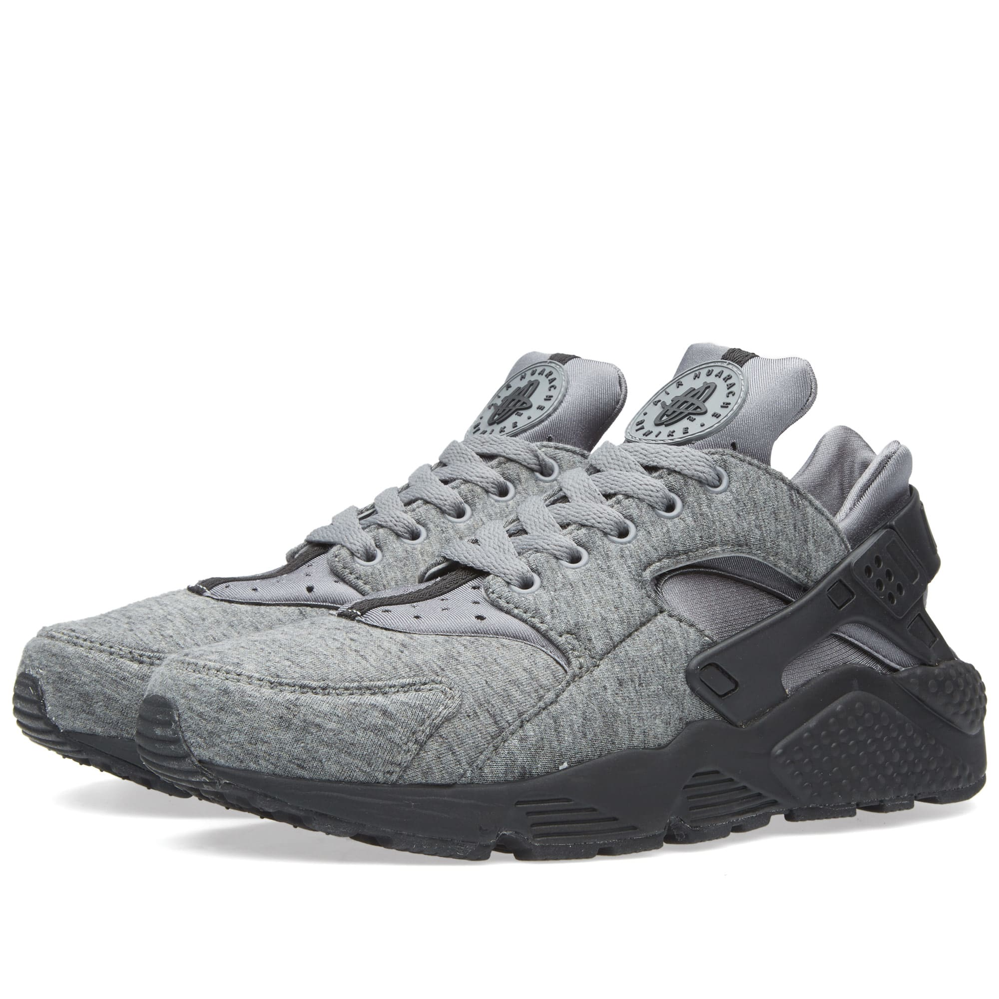 nike air huarache run tp cool grey black white. Black Bedroom Furniture Sets. Home Design Ideas