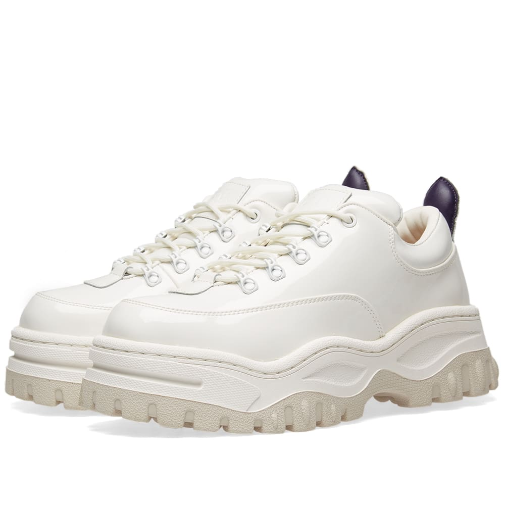 Eytys Angel Patent Sneaker White   END.