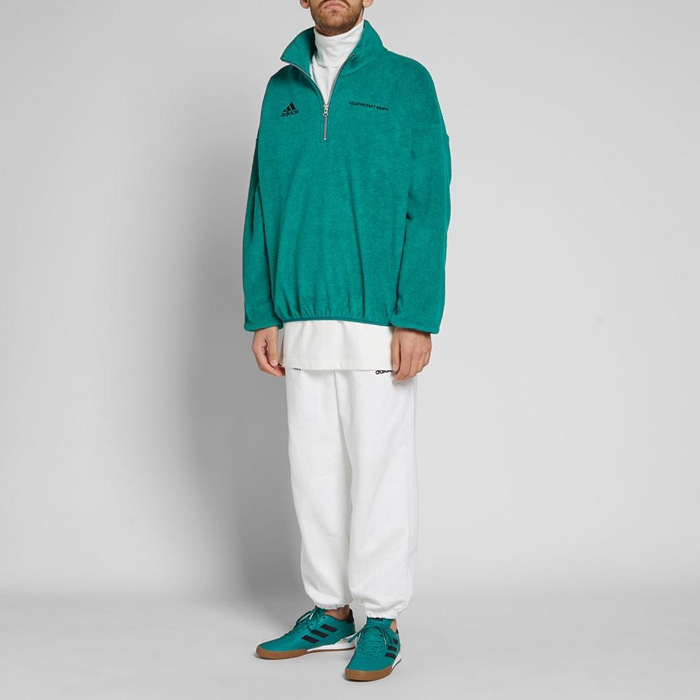 gosha x adidas fleece sweater