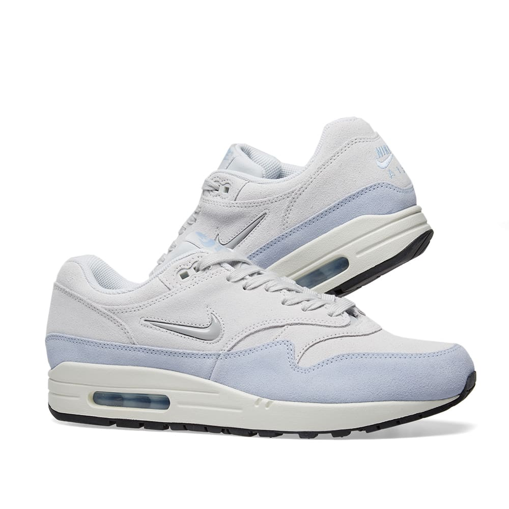 newest collection 7e288 08748 Nike Air Max 1 Premium SC W. Platinum   Royal Tint